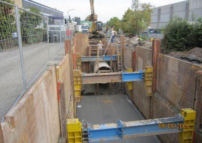 KANAL-Verbau Baugrube